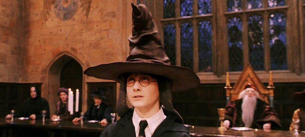 House Decision - Hat - Harry Potter