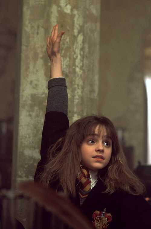 Hermoine Answers - Harry Potter