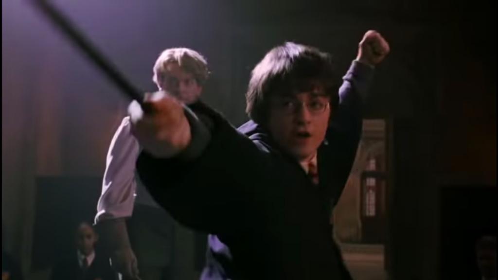Harry Fights Malfoy - Harry Potter