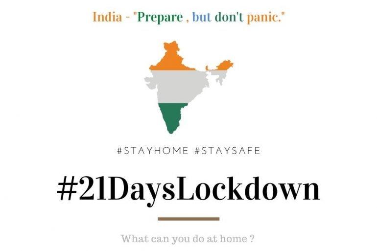 INDIA lockdown 21days