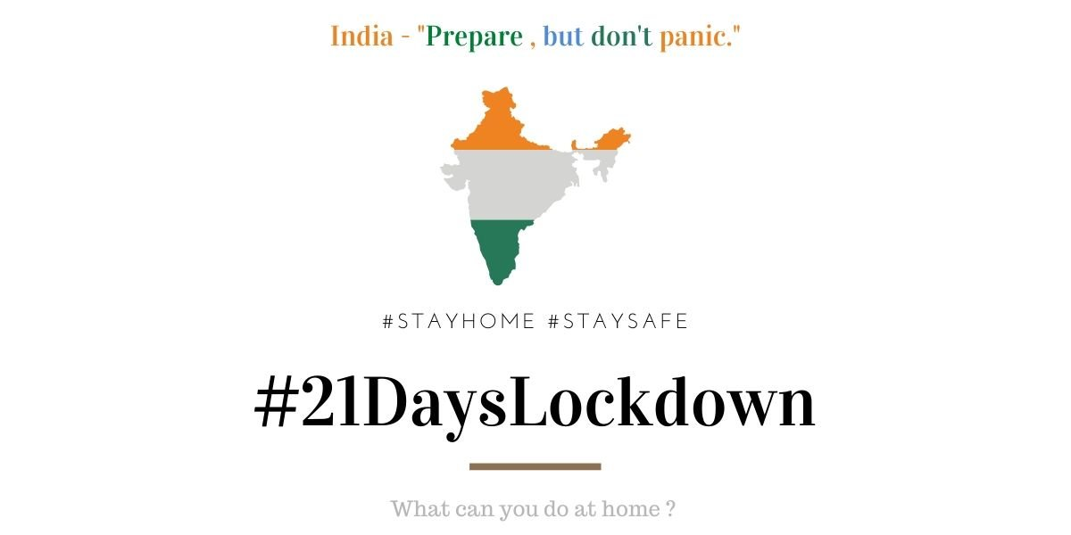 INDIA lockdown 21days