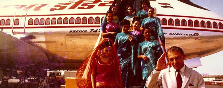 Air India - J.R.D Tata